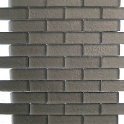 GL Stone & Tile Brick Pattern Glass Mosaics Model 151702041 Kitchen Glass Mosaics