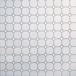 GL Stone & Tile Octagonal Pattern Natural Stone Mosaics Model 151792461 Kitchen Stone Mosaics