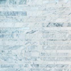 GL Stone & Tile Linear Pattern Natural Stone Mosaics Model 151792191 Kitchen Stone Mosaics