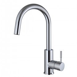 Century Home Living Solid Brass Single lever Kitchen Faucet Type 150123841 Kitchen Faucets in Canada