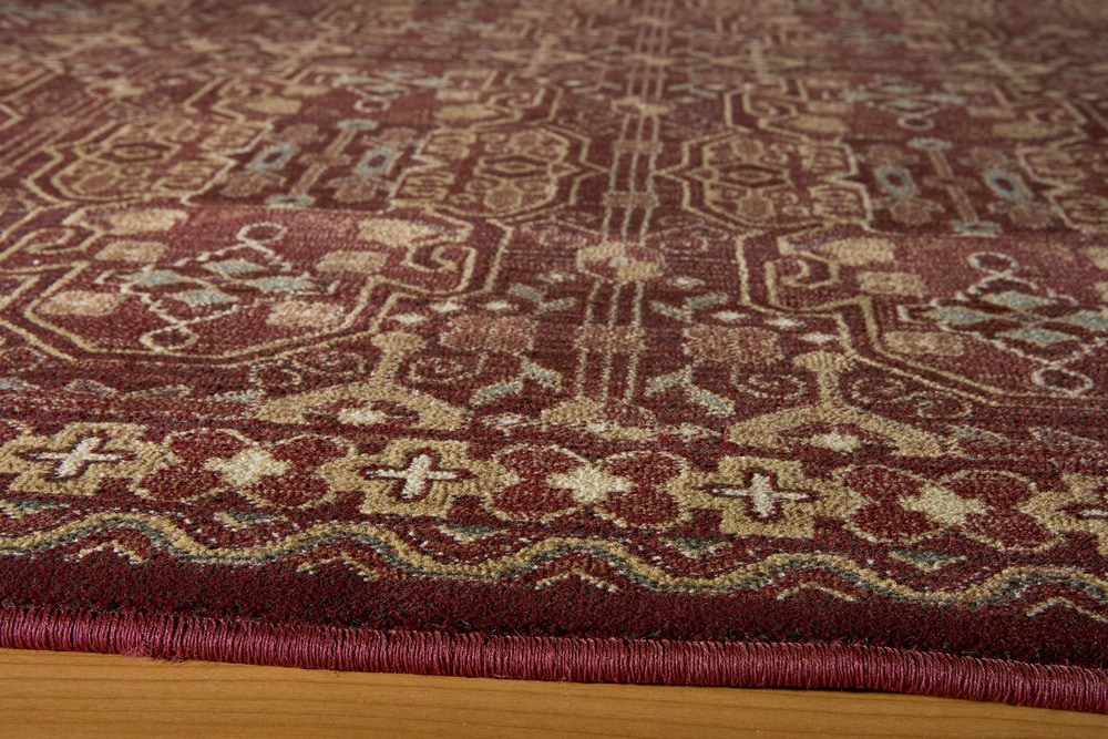 Momeni belmobe 05red belmont collection in red classic Belmont carpets and wood flooring