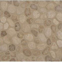 MS International Travertine Pebbles Type 150062751 Kitchen Stone Mosaics in Canada