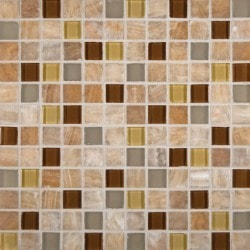 MS International Honey Caramel Type 150064821 Kitchen Glass Mosaics in Canada