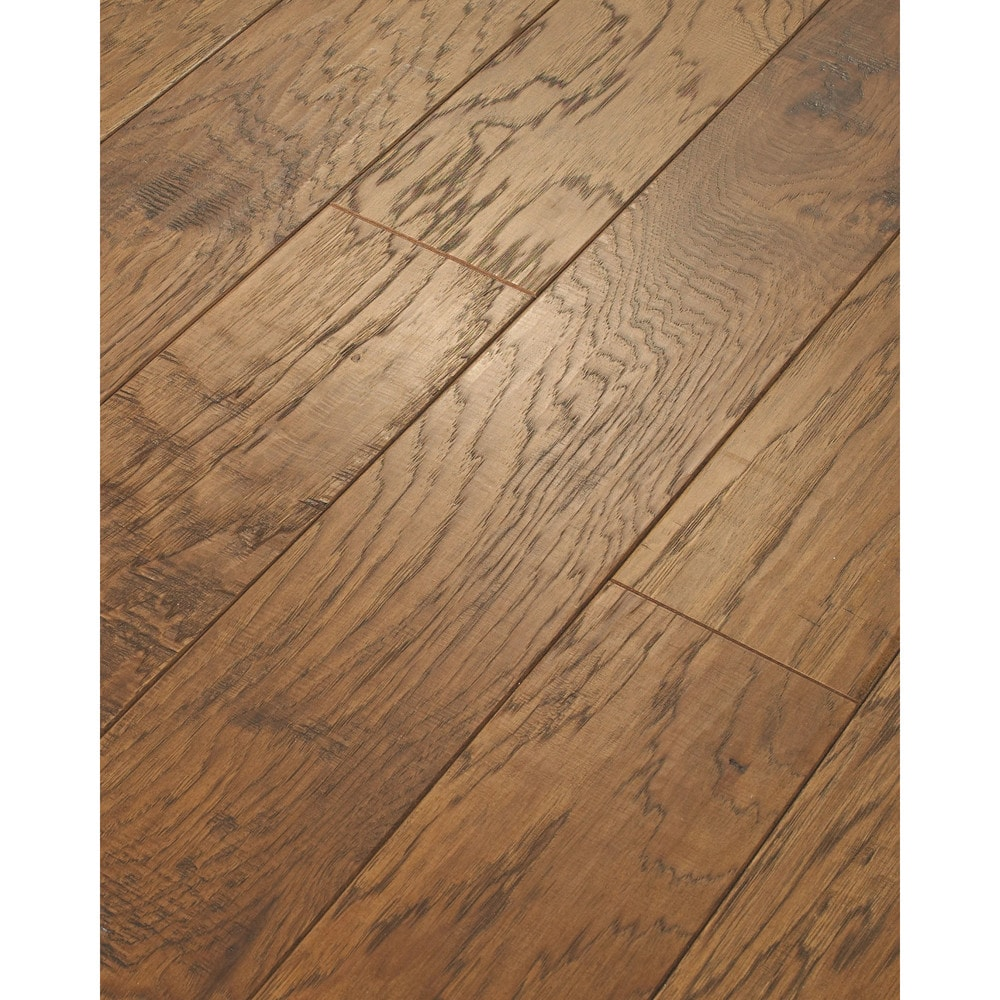Scratch Resistant Flooring : Walking tall engineered tennessee plank leathered pecan