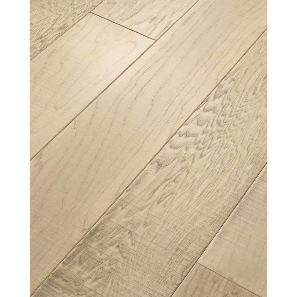 Walking tall engineered tennessee plank smoked hickory for Aluminum oxide flooring