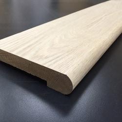 Free samples tungston hardwood unfinished oak white oak for Barre de seuil de porte pour carrelage