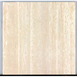 "BellaVia Porcelain Ceramic Marble Tiles & Mosaics Nu Travertine Cream Vein Cut 12""x24"" Natural Rectified Model 150961211 Flooring Tiles"