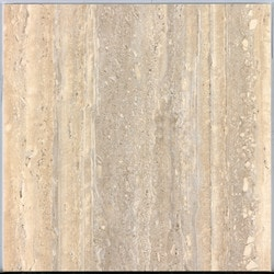 "BellaVia Porcelain Ceramic Marble Tiles & Mosaics Nu Travertine Walnut 9""x18"" Polished/Rectified Model 150961231 Flooring Tiles"