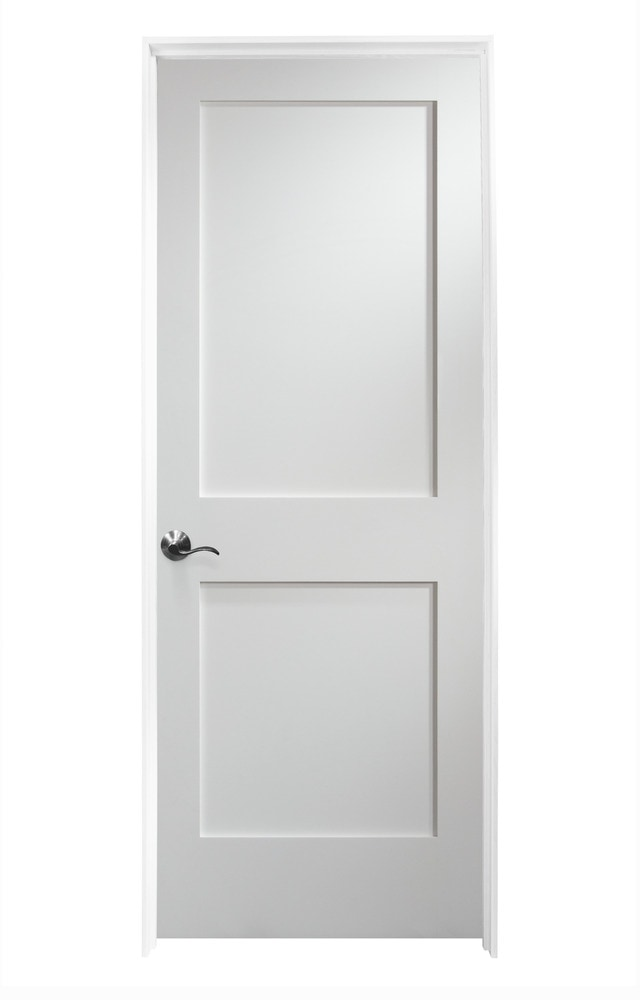 Woodport Doors Interior Doors Knock Down Shaker Collection Painted White Mdf 32 Right