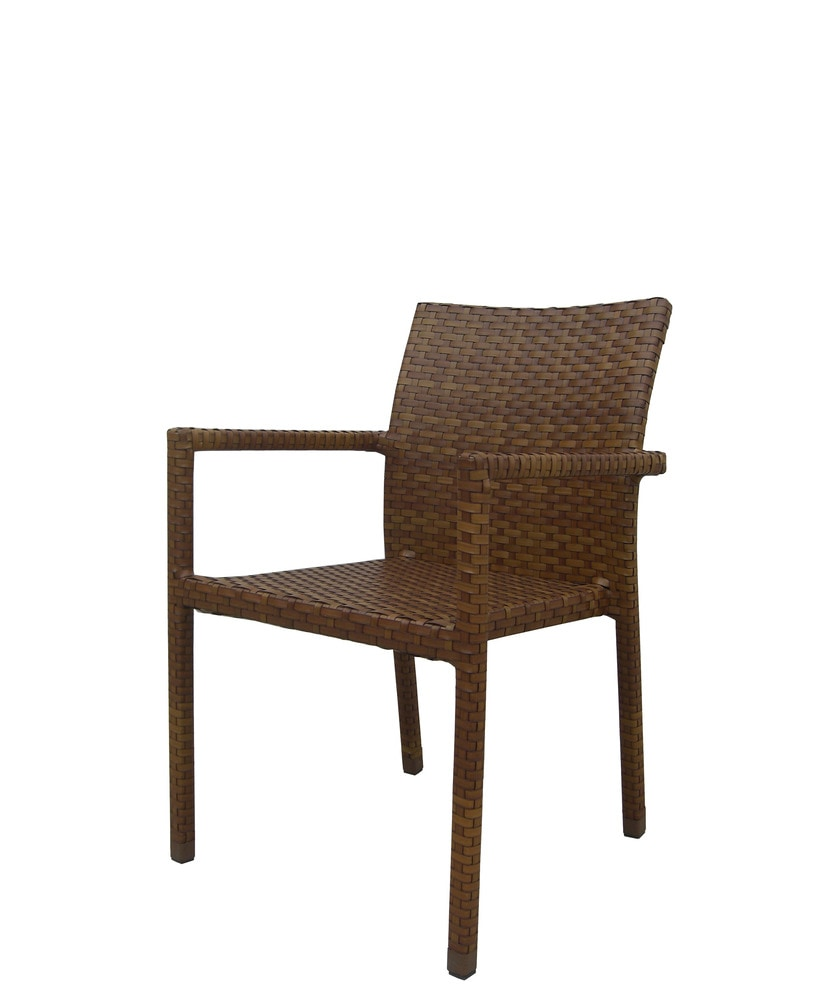 Panama Jack St Barths Collection Stackable Arm Chair 1 Piece
