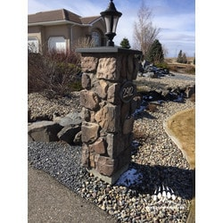 Kodiak Mountain Stone Manufactured Stone Veneer Thin Cut Fieldstone Type 150768101 Manufactured Stone Veneer in Canada