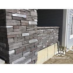Kodiak Mountain Stone Manufactured Stone Veneer Frontier Ledge Panels Model 150767941 Manufactured Stone Veneer