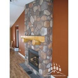 Manufactured Stone Veneer Kodiak Mountain River Rock Thin Stone Manufactured Stone Veneer Type 150768401 in Canada