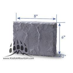 Manufactured Stone Veneer Kodiak Mountain Trim Stone Manufactured Stone Veneer Type 151293291 in Canada