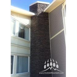 Kodiak Mountain Stone Manufactured Stone Veneer Western Ledge Model 151507441 Manufactured Stone Veneer