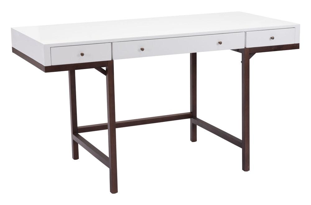 Zuo Modern Desk Zuo Modern Linea Desk Walnut 199054