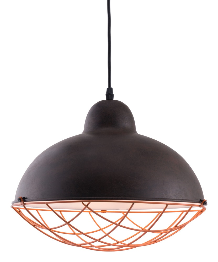 Zuo Ceiling Lamp: Zuo Modern Kong Ceiling Lamp Distressed Black Distressed