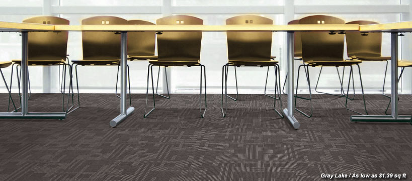 BuildDirect carpet tiles Starting at $0.87 /sq ft