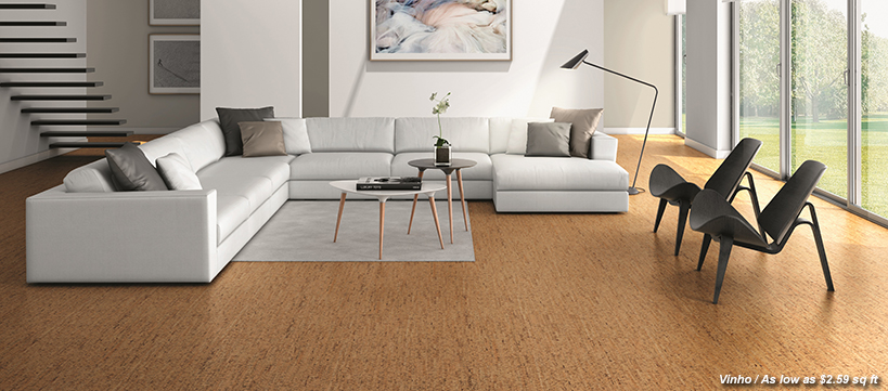 BuildDirect Cork Flooring Starting at $1.98 /sq ft