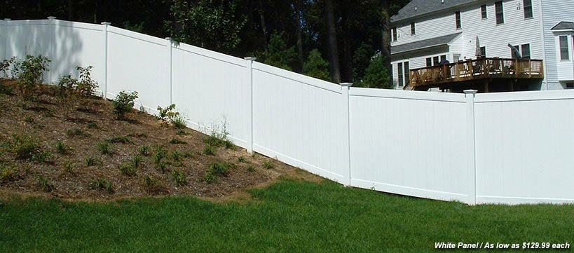 BuildDirect PVC Fence Starting at $129.99 /kit