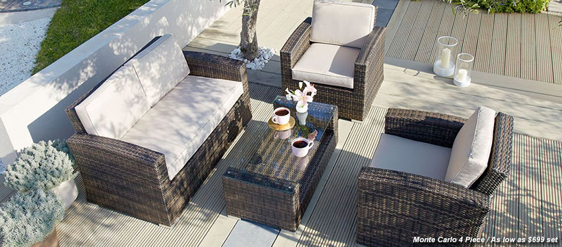 Patio furniture builddirect for Outdoor furniture direct